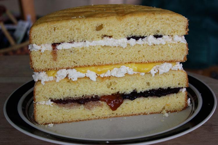 Making A Wedding Cake: Tasting